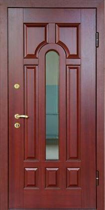 стальные двери с зеркалом клин