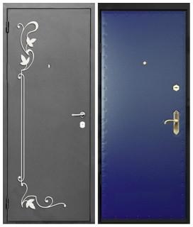 Двери с коваными элементами