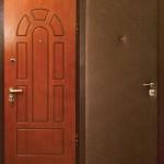 Дверь с отделкой МДФ и винилискожей