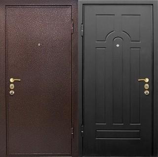 Дверь с порошковым напылением и МДФ