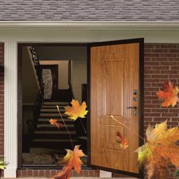 Скидка на двери с терморазрывом и утепление двери