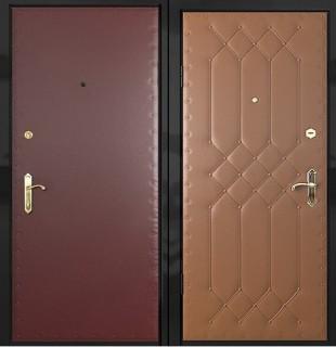 Дверь эконом-класса с винилискожей