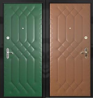 Дверь с дутой винилискожей
